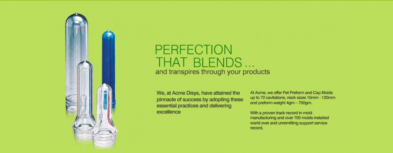 ACME Disys - Plastic, Bottle, Pet Preform Moulds, Dies